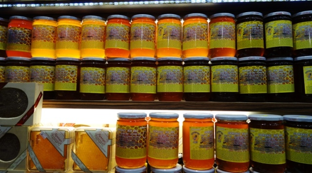 honey, types of honey, jars of honey, turkey, istanbul