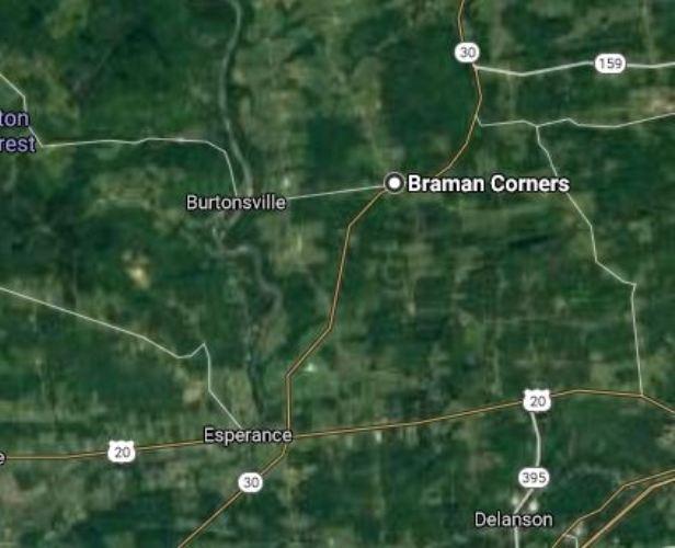Braman Corners, New York, Braman, Family History, Virtual Hike