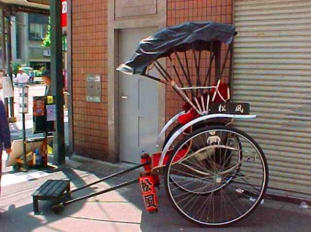 Rickshaw in Tokyo
