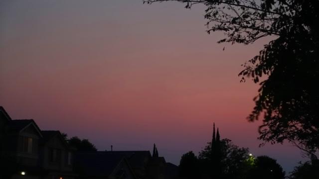 purple sky, violet sky, pink sky, sunset