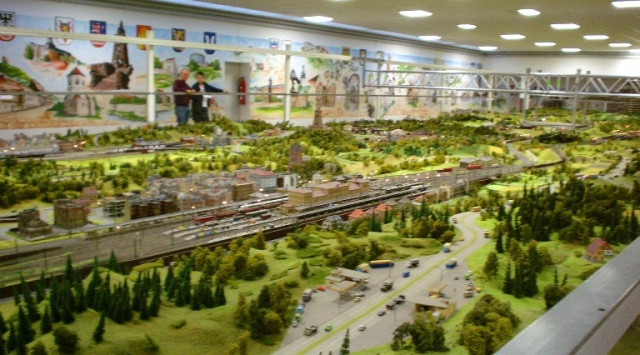 wiehe model railroad, Thuringia, Germany, exhibition