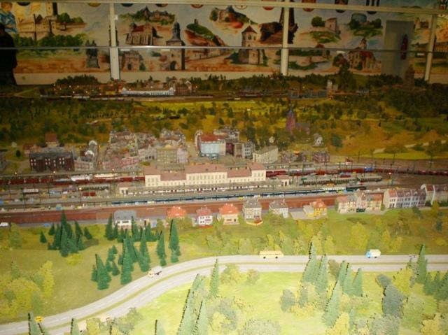 wiehe model railroad, Thuringia, Germany, exhibition