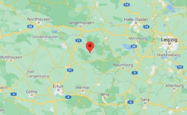 google maps, thuringia,  jena, erfert, wiemar, leipzig, model trains