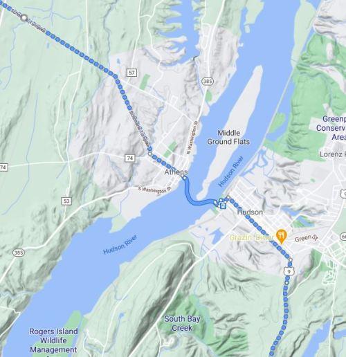 Virtual Hike, New Milford Connecticut, braman corners, hudson river