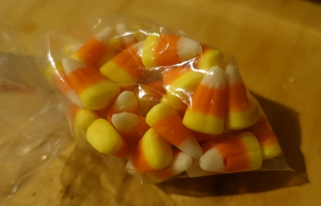 just the right amount of candy corn, candy corn, candies, halloween