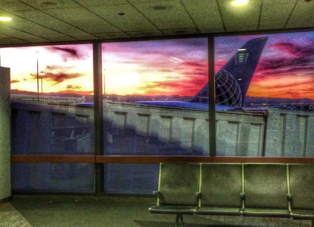san francisco, sunset, united airlines, terminal