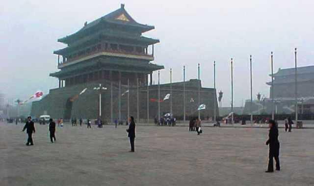 Zhengyangmen, tiananmen square, Beijing, China, history