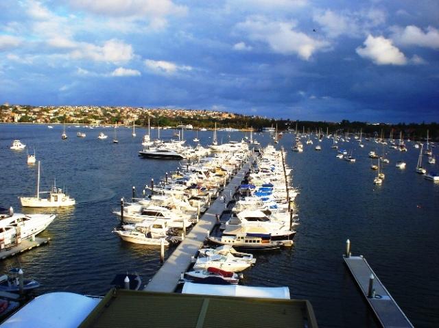 sydney boat club, harbour, Australia