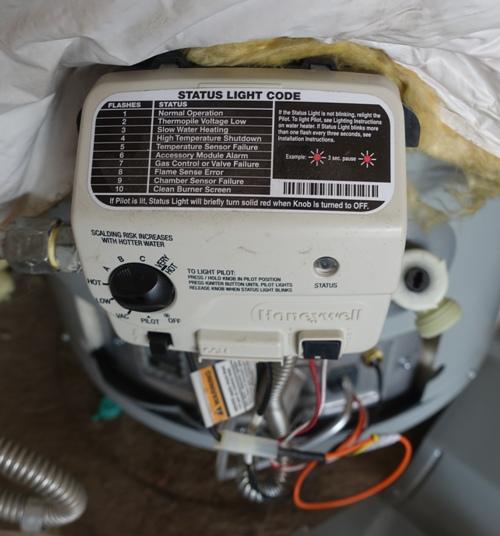 water heater recall, hot water heater, heater control, garage, plumbing