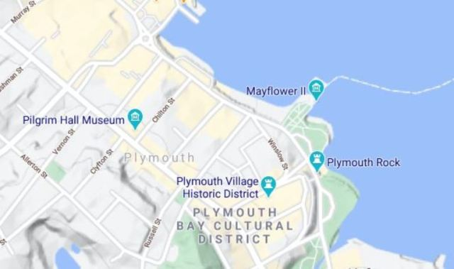 plymouth, virtual hike, soule, mayflower