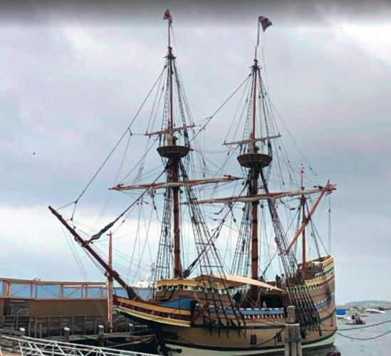 mayflower II, Plymouth, Pilgrims, 1620