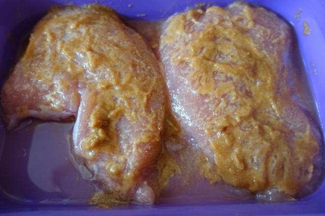 turkey breasts, marinade, miso marinade, thanksgiving