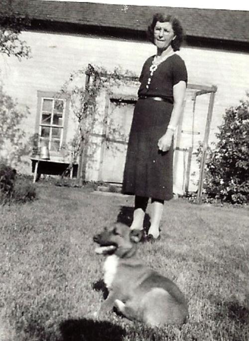 great grandma, dog, iowa