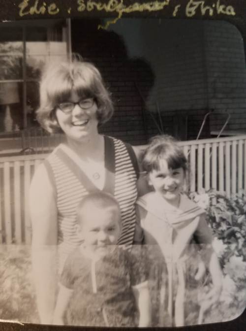 aunt, niece, nephew, Iowa