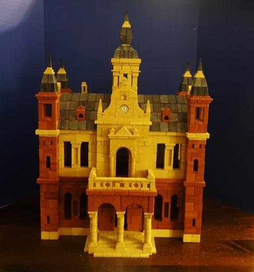 Ankerstein NF26, Palace, blocks, stacking blocks