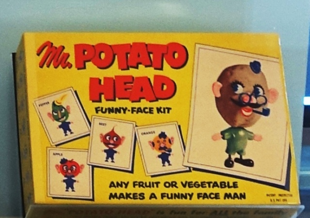 Mr Potato head, SFO museum, culture, potato head, no plastic spud