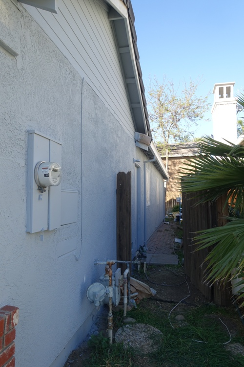 House Painting, Tracy, New Paint, New Color, sprucing it up