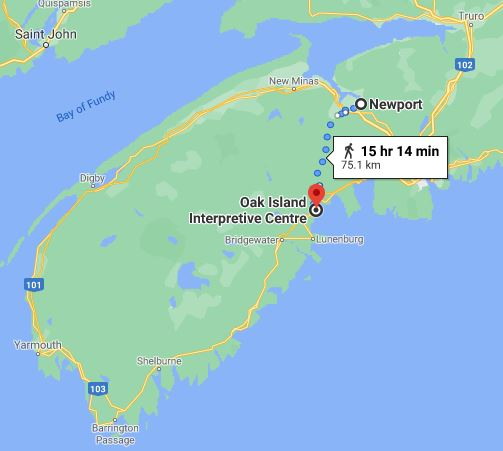 Oak Island, Nova Scotia, Newport, Curse of Oak Island