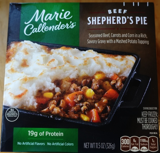 Marie Callenders, beef shepherd's Pie, St. Patrick's Day, Irish food