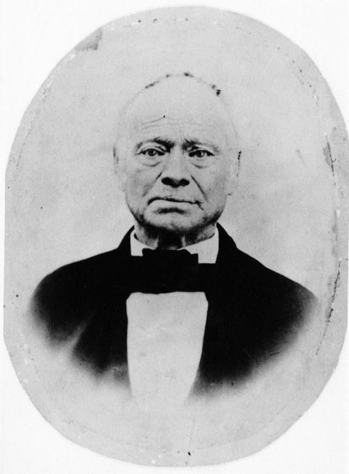 Iowa, Silas Calvin Ramsey, bowtie, old portrait