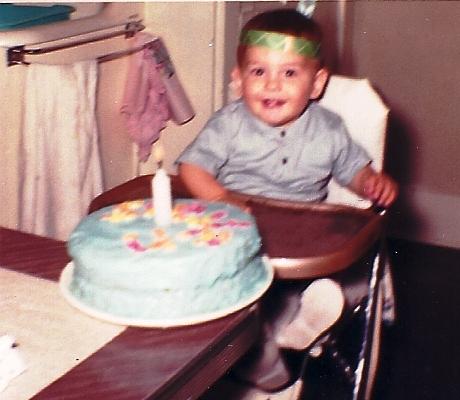 birthday cake, first birthday, feather