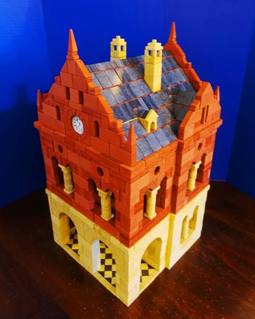 ankerstein, building blocks, lego alternative, stacking stones, beer hall