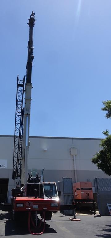 Crane, machines, generator, heavy equipment