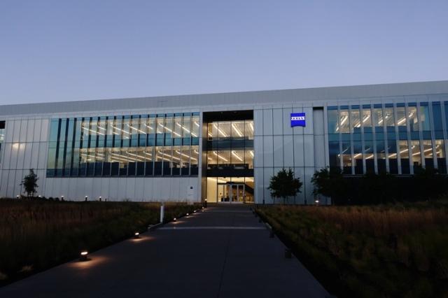 Zeiss Innovation Center, Dublin, california, early morning