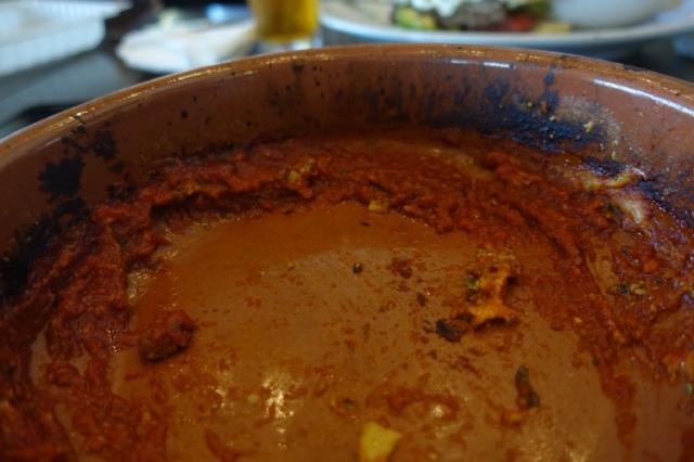 leftover sauce, almond wood, bbq italian