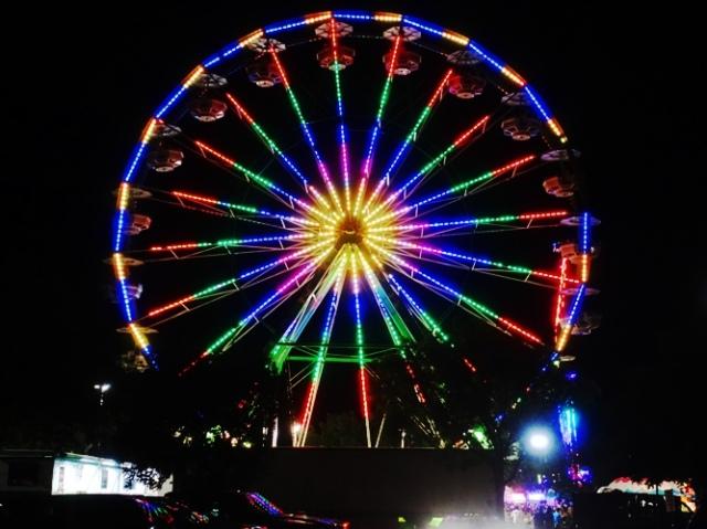 carnival, ferris wheel, rides, memories, 4th of July