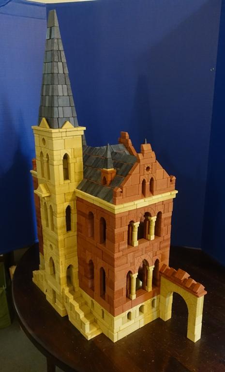 Ankerstein, court of justice, building blocks, stacking blocks