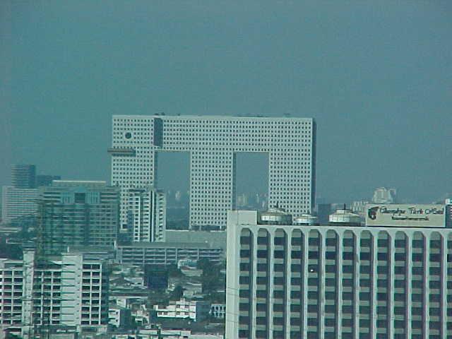elephant building, bangkok, thailand, architecture