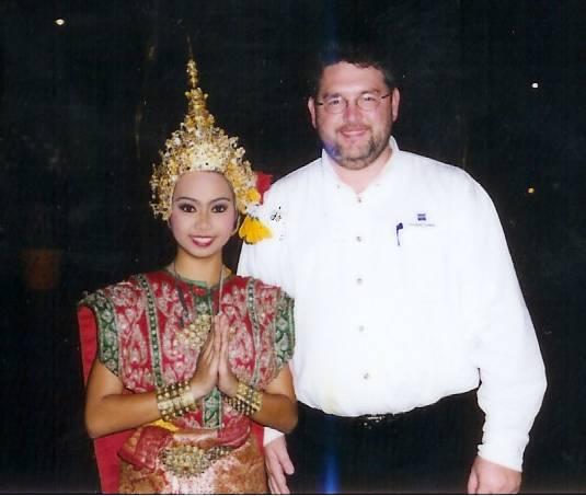 bangkok silom village, thailand, thai classical dancer