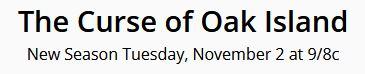 Oak Island, curse of oak island, season 9, history channel
